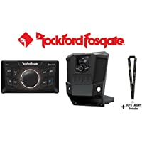 Rockford Fosgate RFRNGR-PMXD PMX dash kit for select RANGER models with Rockford Fosgate PMX-0 Ultra Compact Digital Media Receiver and a SOTS Lanyard