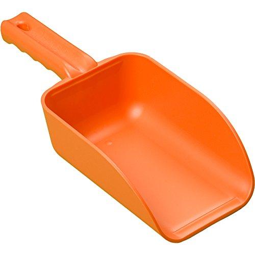 Remco 64007 Orange Polypropylene Injection Molded Color-Coded Bowl Hand Scoop, 32 oz., 1 Piece