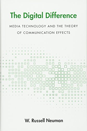 The Digital Difference: Media Technology and the Theory of Communication Effects