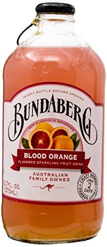 - Bundaberg Sparking Fruit Drink, Blood Orange, 12.7 fl oz, 4 Count