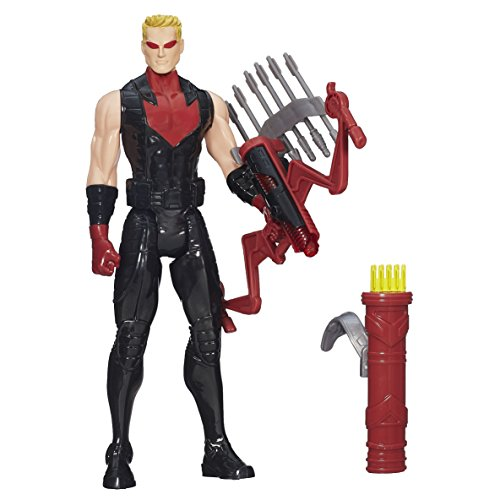 Brillant arc Hawkeye 12 pouces Titan Hero Series edition limitee