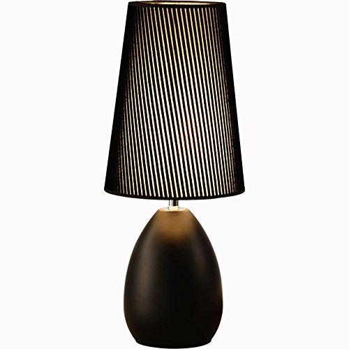 ZHANGRONG Lámpara de mesa LED Dos colores Opcional Pantalla ...