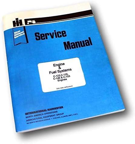 FARMALL Super A SERVICE C-123 OPERATORS PARTS MANUAL IH