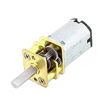 DealMux DC 12V 60RPM del esfuerzo de torsión de 3 mm Diámetro del eje de soldadura de baja velocidad Caja de engranajes del motor: Amazon.es: Bricolaje y ...