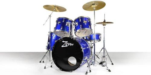 【国内正規品】 ZENN ゼン ドラムセット ZDS3000II METALLIC BLUE ドラムセット B01MY8KITZ