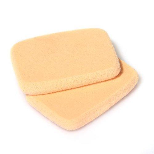 SODIAL(R) 2x Puderquaste Schminkschwamm Make Up Schwamm Gesicht Schwaemmchen Kosmetik