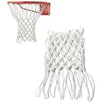 Ganancias del juego de baloncesto, red de baloncesto portátil de 50 cm de nailon para deportes al aire última intervensión, aro para el clima, bolsa de malla para retículos, ingresos para el hogar, 1 unidad