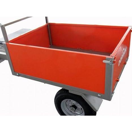 Remolque dormak para motocultor - carga: 300 kg: Amazon.es ...