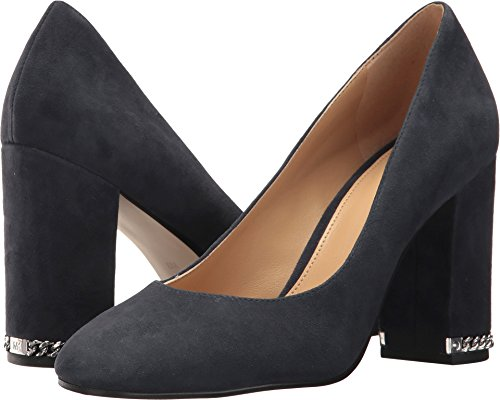 MICHAEL Michael Kors Women's Jamie Pump Admiral Kid Suede 6 M US - Kid Suede Pumps