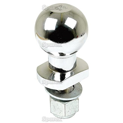 Enganche de bola bola de remolque patilla 50mm cromo Universal Quad ATV Heavy Duty 3//4 19mm