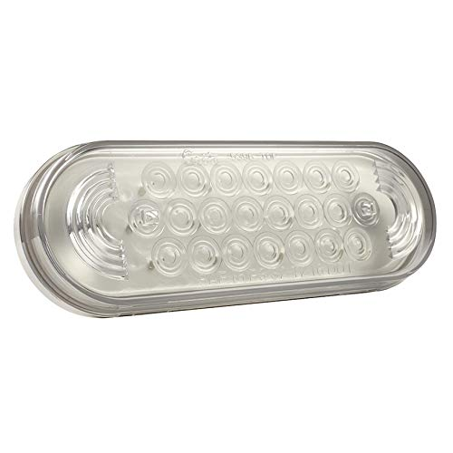 Grote 77361 Clear Oval LED Strobe Lights by Grote