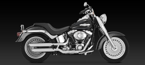 Vance & Hines Chrome Twin Slash 3