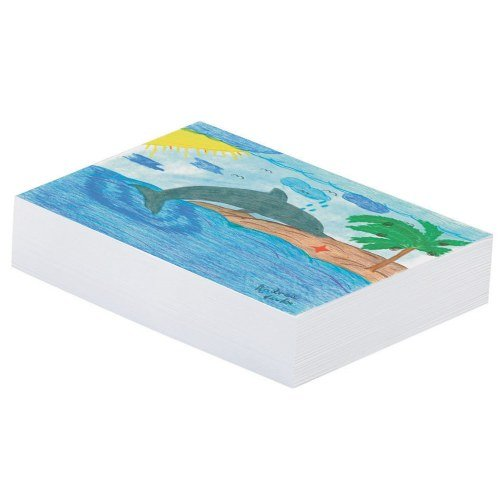 PAC3409 - Pacon White Newsprint (Recycled Newsprint Drawing Paper)