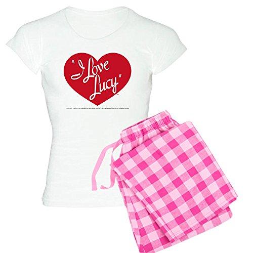 CafePress - I Love Lucy: Logo - Womens Novelty Cotton Pajama Set, Comfortable PJ Sleepwear - I Love Pj