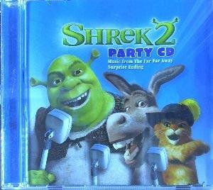 Shrek Fiona Three Blind Mice Donkey Captain Hook Prince Charming Puss In Boots Shrek 2 Party Cd Amazon Com Music