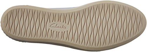 Clarks Womens Cordella Alto In Pelle Argento
