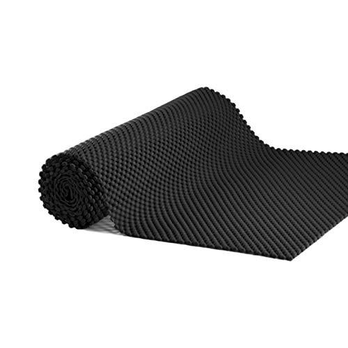 - Grip Liner Non-Adhesive Shelf Liner, Anti-Slip Mat Cabinet Drawer Liner 12 in x 60 in (Black)