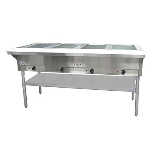 Adcraft 4 Bay Open Well Steam Table Model ST-240-4 by Adcraft
