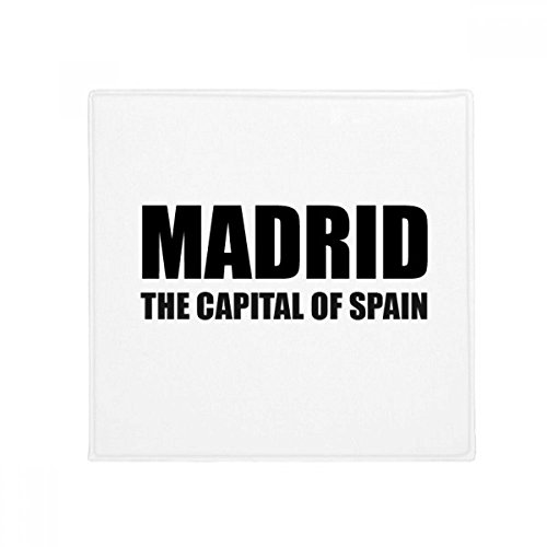 DIYthinker Madrid The Capital Of Spain Anti-slip Floor Pet Mat Square Bathroom Living Room Kitchen Door 60/50cm Gift by DIYthinker