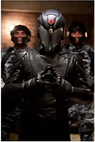 G I Joe Retaliation Luke Bracey As Cobra Commander Hands Folded In Front 8 X 10 Inch Photo At Amazon S Entertainment Collectibles Store