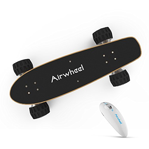 Official Airwheel M3 Electric Longboard Skateboard Controlled By Handhold Wireless (Damper Remote Controller)