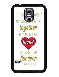Cheap Samsung Galaxy S5 I9600 case, Winnie the Pooh Cartoon Theme Hard Plastic Cute Case Cover Fit for Galaxy S5 9017937M639017344