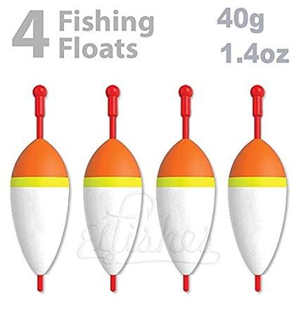 Flotador de Pesca de Espuma, 40 g, Carpa en Línea, Pique, Pescado