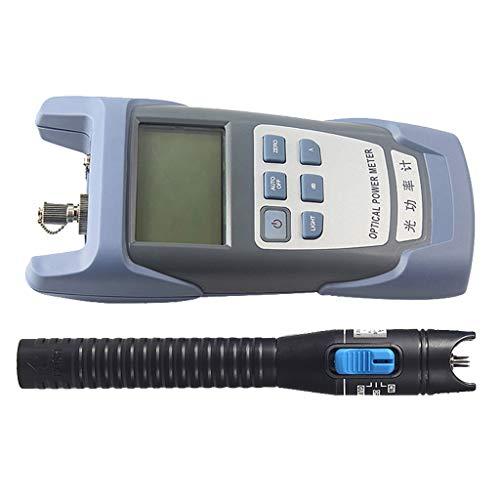 SM SunniMix -70dBm~+10dBm 850~1625nm Optical Power Meter Tester FC SC Handheld Optical Power Meter + with 1mW Visual Fault Locator Pen Black by SM SunniMix (Image #10)