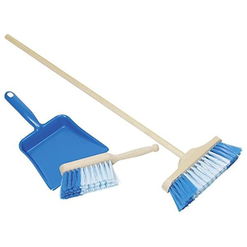 Toys Pure Kids Sweeper/Dustpan & Broom Playset, Blue