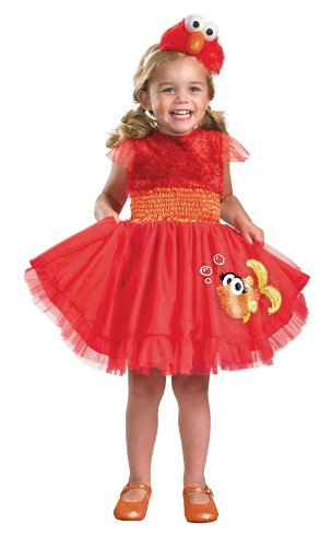 (Sesame Street Elmo Frilly Girl's)