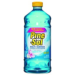 Pine-Sol CLO 40238 All-Purpose Cleaner, Sparkling Wave, 60 oz. (Pack of 6)