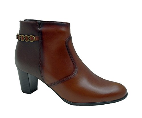 Braun Women's 40 39 Boots ara Ankle 37 41 Brown 38 Elegant Leather YPdHYgqw