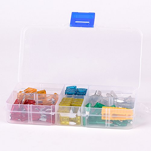 120pcs 5A 10A 15A 20A 25A 30A Mini Assorted Set Kit Blade Fuse Car Auto Motorcycle Boat with FUSE PULLER