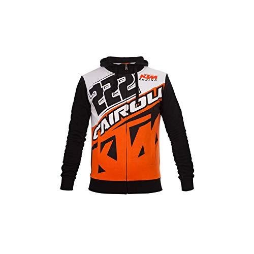 Tony Cairoli 222 Moto Cross Racing KTM Felpa con Cappuccio Ufficiale 2017 tg. XL VR46