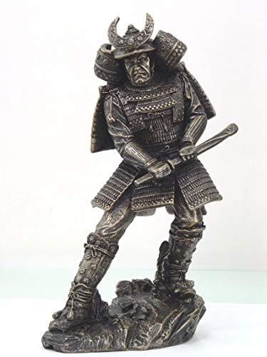 Figurine Large Warlord Shogun Samurai Statue Warriors Katana Nobunaga Japan ()