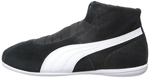 PUMA Women's Eskiva Mid Textured Cross-Trainer Shoe, Black, 7 M US by PUMA (Image #5)