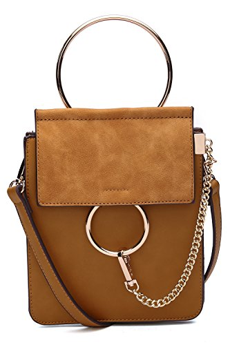 body Farrow Cell Cross Women Zoey with by Cognac Mia Strap Collection Purse Phone K Brow MKF Adjustable qf4Btt