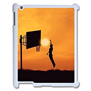 basketball Customized Cover Case with Hard Shell Protection for Ipad2,3,4 Case lxa#245524