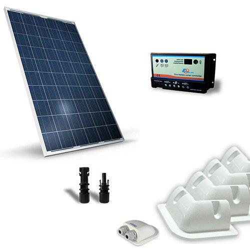 Kit solar Wohnmobil 200W 12V base Photovoltaik, Regler, Zubehör