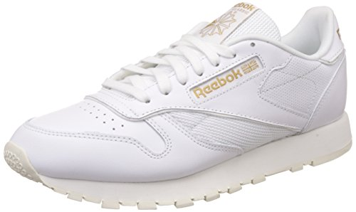 Reebok Herren Classic Leather Alr Sneaker WHITE/CHALK/SNOWY GREY