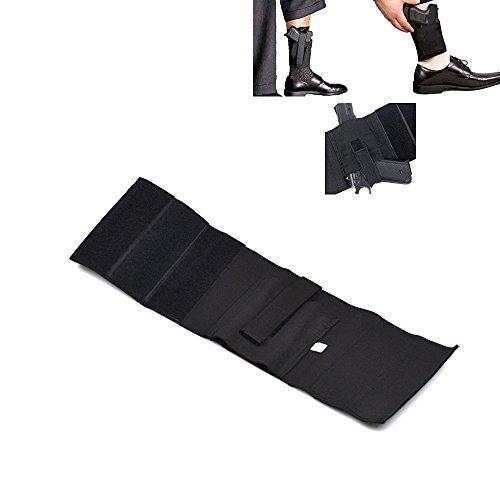 [Ankle Holster for Concealed Carry Elastic Wrap Strap Hidden Gun Holster for Women Men Fits for Small to Medium Frame Pistols and] (Leg Gun Holster Costumes)