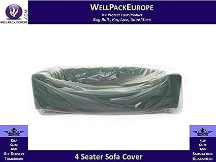 Deal * Polycover - para sofá de 4 plazas - (3 x fundas ...