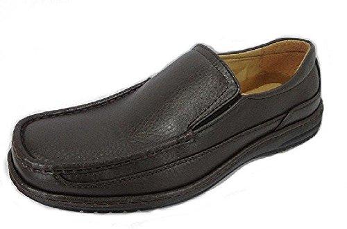Voordeel Dragen Maximus Heren Dress-schoenen Slip-on Mocassin Bruin