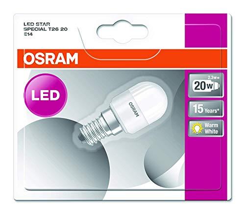 Osram Star Special T26 - Lámpara LED, E14, color blanco