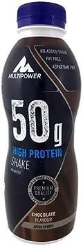 Multipower 50g Protein Shake, Sabor Chocolate - 12 Unidades ...
