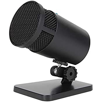 cyber acoustics usb condenser microphone for podcasts gaming vocal music studio. Black Bedroom Furniture Sets. Home Design Ideas