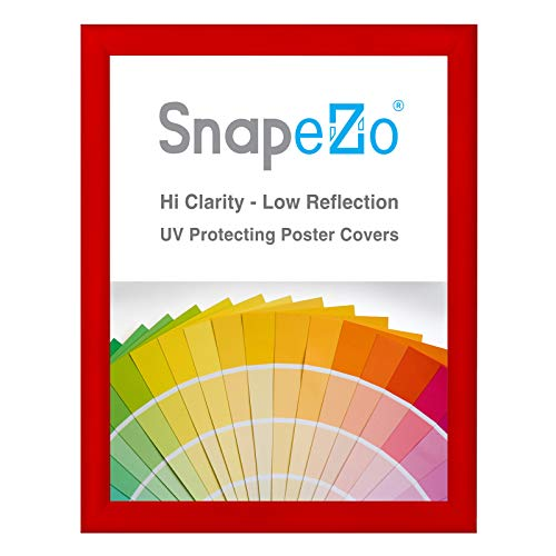 - SnapeZo Poster Frame 24x32 Inches, Red 1.2