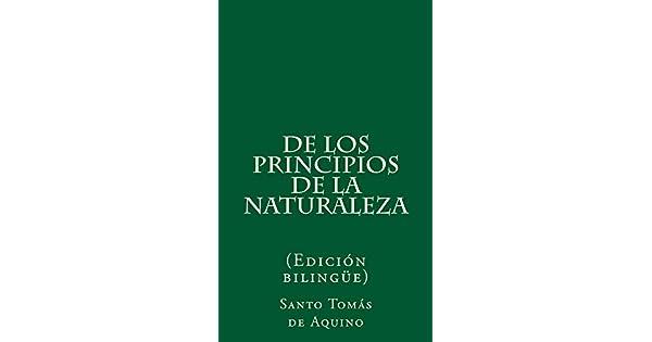 De los principios de la naturaleza eBook: Santo Tomás de Aquino, Emiliano Rueda: Amazon.com.mx: Tienda Kindle