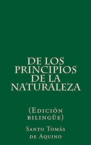 De los principios de la naturaleza de [Aquino, Santo Tomás de]