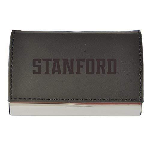 (Velour Business Cardholder-Stanford University-Black)